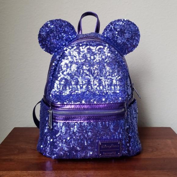 28ed62e41d6 Loungefly + Disney Parks Purple Potion Backpack